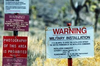 CIA recunoaste, in premiera, existenta controversatului poligon numit Zona 51