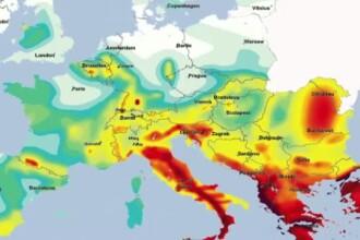 HARTA SEISMICA a Europei. Romania, printre cele mai expuse zone in fata unui cutremur fara precedent