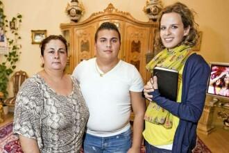 Reportaj BILD in casa femeii condamnata dupa ce fiul ei a adunat 1181 de absente de la scoala