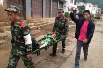 Cutremur in China. Bilantul seismului de 6,1 pe scara Richter a crescut la 589 de morti. 9 persoane date disparute