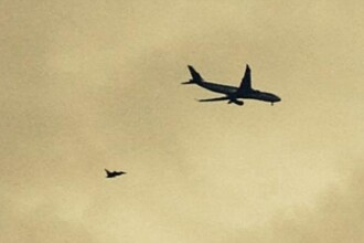 Un Airbus al Qatar Airways a fost escortat de un avion de lupta, deasupra Marii Britanii, dupa o amenintare terorista la bord