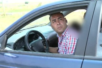 Constantin, escrocul de pe Autostrada Soarelui, risca doi ani de inchisoare. Copiii, tinuti in soare cand el iese la cersit