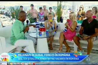 Raluca Zenga a intors toate privirile pe plaja din Mamaia. Cum arata sotia fostului fotbalist italian in costum de baie