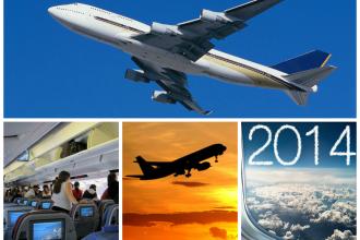 Anul 2014, cel mai devastator pentru aviatie? Statisticile care arata cat de sigur este in realitate zborul cu avionul