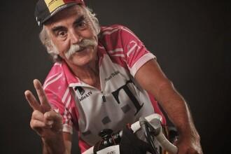 Povestea lui nea Ciuperca, pensionarul de 71 de ani care pedaleaza in tara si in afara. De cate ori a facut turul Romaniei