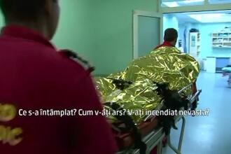 Gelozia ii poate fi fatala. O femeie din Botosani si sotul ei, adusi cu un elicopter SMURD la Spitalul de Arsi din Capitala
