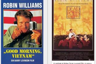 INFOGRAFIC. Personajele si citatele prin care Robin Williams traieste in continuare. Rolul dintr-o drama i-a adus un Oscar