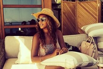 Beyonce, acuzata ca a folosit Photoshop-ul pentru a ascunde un detaliu la picior. Reactia fanilor