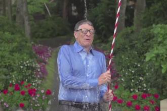 Bill Gates a acceptat provocarea lui Mark Zuckerberg. Ce au facut sefii de la Microsoft si Facebook a ajuns viral pe Internet