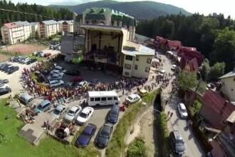 Mii de turisti au luat cu asalt Platoul Bucegilor, in acest weekend. Ce alternative pentru distractie au avut