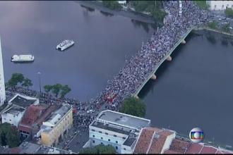 STIRI EXTERNE PE SCURT. 160.000 de oameni au mers la inmormantarea unui politician brazilian, mort intr-un accident aviatic