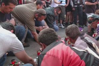 Prietena motociclistului injunghiat in comuna Sanzieni din Covasna a depus plangere la Politie. Ce acuzatii le aduce romilor