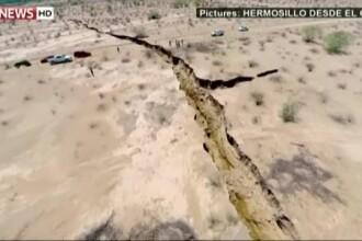 O falie, lunga de un kilometru, a aparut in Mexic. Geologii inca nu au descoperit cauzele fenomenului