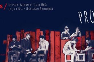 Singurul oras din Romania fara teatru care de 9 ani are festival de teatru. VEZI LIVE, marti, pe www.stirileprotv.ro