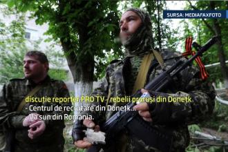 Reporterii Stirilor ProTV au sunat la centrul de recrutare din Donetk. Ce au aflat despre cei care vor sa se inroleze