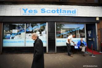 Mai sunt 3 saptamani pana cand Scotia isi decide independenta, prin referendum. Care este cea mai mare teama a scotienilor
