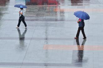 De duminica incep ploile, in nord se raceste transant si pot aparea manifestari violente ale vremii. Prognoza pe 3 zile