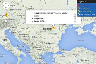 Cutremur cu magnitudinea 4 inregistrat vineri dimineata, in Buzau