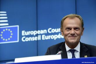 Presedintele Consiliului European, Donald Tusk, promite sa faca