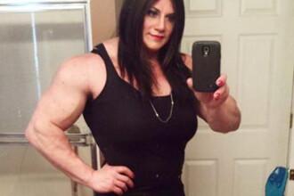 Un campion mondial la culturism a anuntat ca este transsexual.