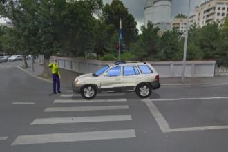 Cum s-a petrecut accidentul in care un politist a fost luat pe capota de un milionar turc, in Bucuresti. Animatie grafica