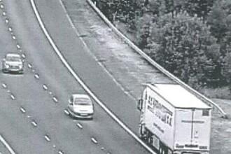 Cum au fost surprinsi doi soferi romani pe o autostrada din Marea Britanie. Au ajuns la inchisoare. FOTO