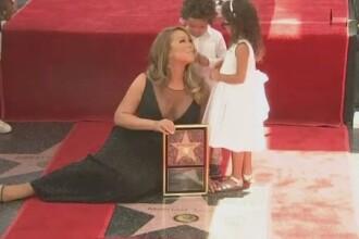 Mariah Carey are stea pe Bulevardul Celebritatilor. Cea mai frumoasa declaratie a venit de la gemenii vedetei