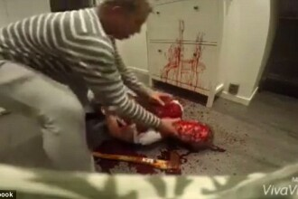 Momentul in care un barbat isi gaseste amicul intr-o baie de sange, cu un topor langa el. Farsa care l-a speriat de moarte