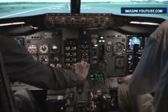 Echipajul unui avion Airbaltic, in stare de ebrietate, chiar inainte de decolarea din Oslo. Explicatia data pasagerilor