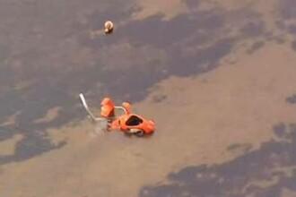 Cel putin opt persoane au murit in coliziunea dintre un elicopter si un hidroavion, langa Moscova. Una din victime e un copil