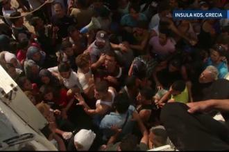 Haos pe insula Kos din Grecia, din cauza imigrantilor clandestini. Avertizarea primarului: