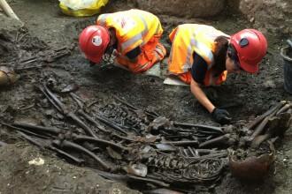 Descoperire macabra in centrul Londrei. Ce au gasit excavatorii in timp ce sapau pamantul pentru constructia unei noi gari