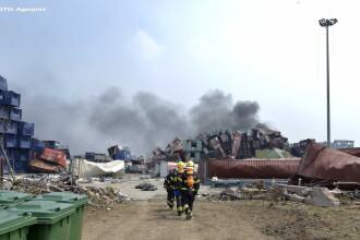 Dezastru in orasul chinezesc Tianjin, unde au murit deja 50 de oameni: