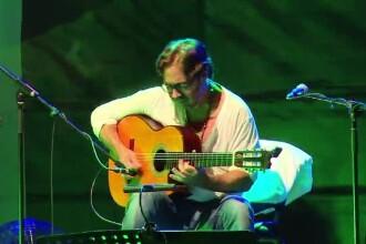 Unul dintre cei mai mari chitaristi de jazz ai lumii, Al Di Meola, a facut show la Targu Mures: