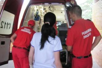 O maicuta din Botosani a bagat in spital doi copii si o femeie insarcinata, dupa ce a provocat un accident rutier
