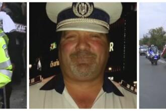 Ultim omagiu pentru politistul erou, ucis de un om de afaceri turc. Peste 100 de ofiteri au insotit cortegiul pana la capela