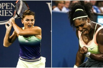 Simona Halep, in finala cu Serena Williams: