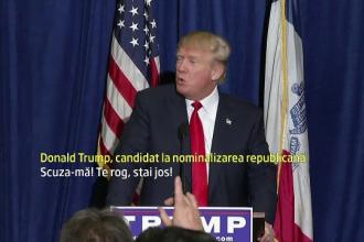 Donald Trump l-a dat afara de la o conferinta pe un jurnalist de la un post tv hispanic: