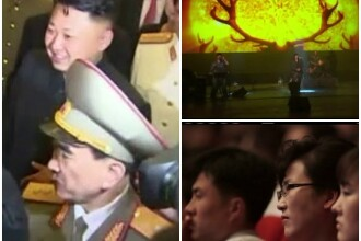 Nord-coreenii, bulversati in fata primului concert de rock din viata lor.