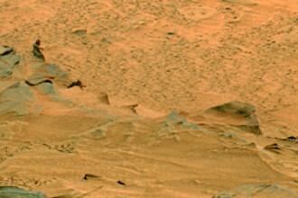 """Adevarul despre soparla martiana si """"femeia de pe stanca"""". Ce spune NASA despre imaginile surprinse de misiunea Curiosity"""