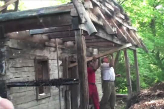 Metoda prin care puteti sa va construiti o casa precum cele de la Muzeul Satului.
