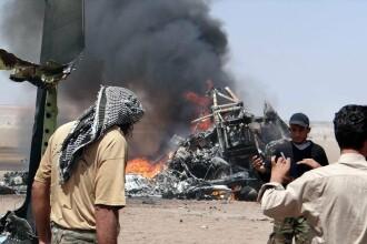 Un elicopter rusesc care efectua o misiune umanitara a fost doborat in Siria. Ce au facut rebelii sirieni cu trupul pilotului