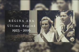 Regina Ana a Romaniei a murit la varsta de 92 de ani. Ziua de 13 august ar putea fi declarata zi de doliu national