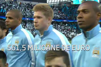 Manchester City joaca la Bucuresti cu Steaua. Becali: