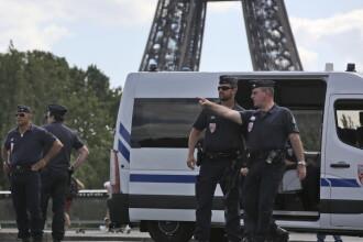 Clipe de groaza la Paris. Turnul Eiffel a fost evacuat DIN GRESEALA, dupa simularea unui atac terorist
