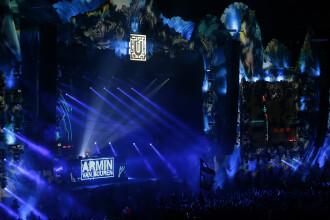 Armin van Buuren si-a prelungit concertul cu patru ore, incheindu-l la rasarit. Ce a postat DJ-ul, duminica, pe Twitter
