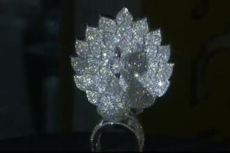 Cum arata inelul impodobit cu 3827 de diamante, creat in 3 ani de zile. Bijuteria indiana costa aproape 3 milioane de dolari