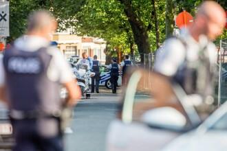 Acțiune în forță a poliției la Bruxelles. Trupele speciale, în alertă