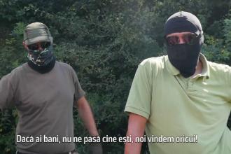 Ancheta Sky News: Traficanti din Romania vand arme teroristilor. Negocierile purtate intr-o padure din tara, filmate. VIDEO
