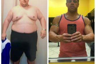 A fost pus sa cumpere 2 locuri in avion pentru ca era prea gras si a decis sa slabeasca. Transformarea lui este incredibila